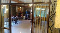 Dinning Area of Mystic Rodhi Resort at Darjeeling