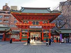 in the shrine