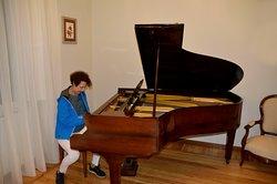 Il pianoforte della Villa delle rose