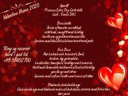 Valentins menu 2020