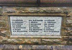 7.  Goudhurst War Memorial, Goudhurst, Kent