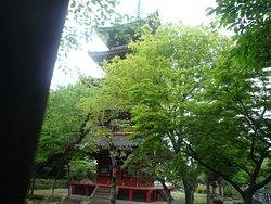 Five-storied pagoda ueno01