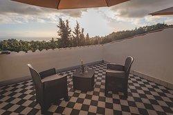 la terrazza sul tetto, esclusiva delle nostre suite