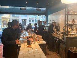 Caffe Napoli Turati - il locale interno
