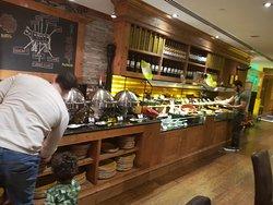 1st visit to fogueira restaurant