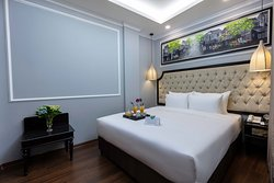 the deluxe double room