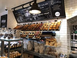 Pick-A-Bagel  -  bagels and menu board