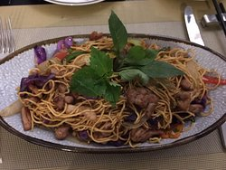 Ala carte - stir fried beef noodle