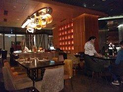 Interior view of Tao Restaurant.