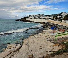 Danny;s Beach Bar view.