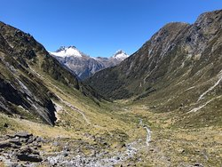A fantastic back country hike, stunning scenery