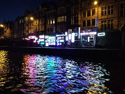Geweldige boattour lichtfestival
