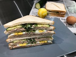 Le club Sandwich au thon de chez Harry