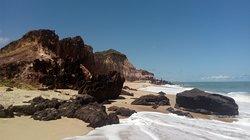 Praia de Tamba' na Baia da Traicao PB. E. Linda