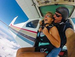 No Feeling Like It!!  Skydive Palm Beach 561-586-7669