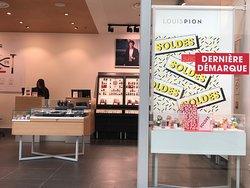 Magasin «Louis Pion» du centre commercial Val d'Europe à Serris