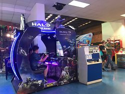 Vince's Sports Center Halo game