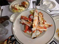 Two Orders Of Crab Legs