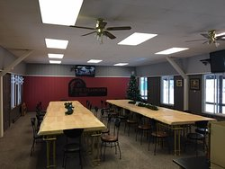 108 Steakhouse & Bar set up for a private function