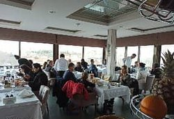 lunch time in 360  panorama restaurant.