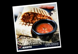 Polaroid Burrito