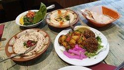 Pranzo libanese...