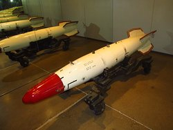 B57 themonuclear weapon at the Flying Heritage & Combat Armour Museum