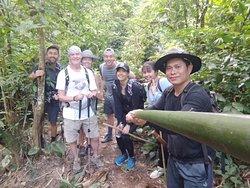 Trekking boat trip & elephant camp 2 day 1 night