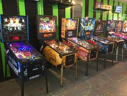 We have more than 20 pinballs in great condition onsite. Come check them out!