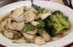 chicken kow with broccoli