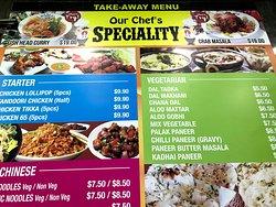 餐廳 菜單