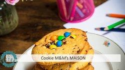 Nos cookies aux pépites de chocolat et au MM'S