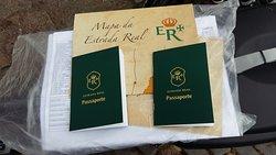 Passaporte para quem faz o percurso da Estrada Real