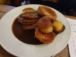 An excellent Sunday lunch