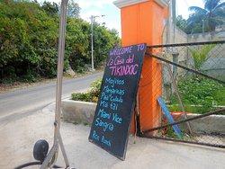 Road side sign
