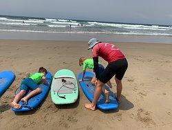 Great surf school near Gerroa