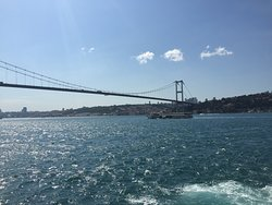 View of the end of Europe from the Boat trip Bosporus Strait