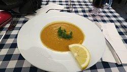 Uninspiring Pumpkin Soup.