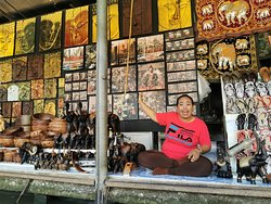 Damnoen Saduak Floating Market vendor
