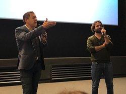 Dany Boon et Ludovic Colbeau-Justin à l'avant-première du film «Le Lion» le 26/01/2020 au Pathé Aéroville