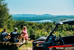 Ride out to beautiful views on Polaris RZRs.