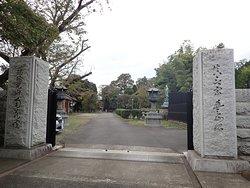 南蔵院通りがある東側に寺院の入口がありました。