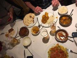 Madrass, jalfrezi, bhuna, chilli Chicken