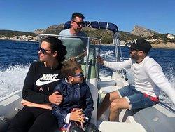 Un día estupendo para navegar :)