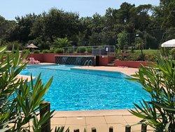 Vue piscine extérieur
