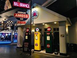 Bill France garage replica