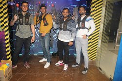 best Corporate Party place in Gurgaon and Delhi NCR. Team building exercise