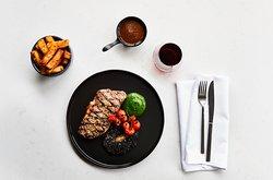 The Laureate steak