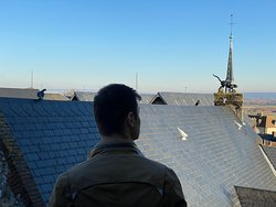 Vue de la suite sur les toits