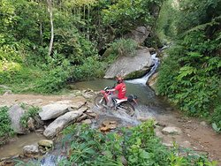 All our tours are conducted on dirt bikes, genuine Honda XR150s and CRF250s. These bikes are ideal for touring Vietnam because conditions in remote areas, especially in the rainy season, can get pretty rough. Touring on a dirt bike also means you'll be able to explore areas you otherwise wouldn't, and challenge yourself on adrenaline-pumping dirt roads. Because all our bikes are late-model, and maintained by professional mechanics using real Honda parts, riding one of our bikes means you can rid